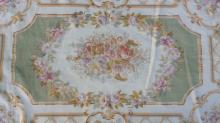 Floral Detailed Hand Made Wool Rug