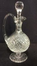 WATERFORD Cut Crystal Pitcher Decanter