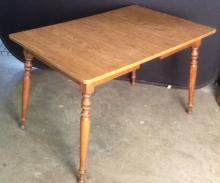 Vintage Carved Wooden Dining Table