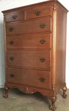 High Boy Chest OF Drawers With Feet