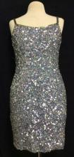 BLACKTIE OLEG CASSINI Sequin Dress