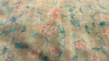 Wool Pile Floral Detailed Handmade Rug