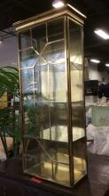 Gold Toned 3 Shelf Display Case DandD Building
