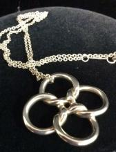 TIFFANY&CO Quadrifoglio Necklace by Elsa Peretti