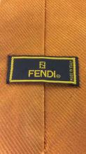 Lot 2 GIVENCHY Handkerchief & FENDI Tie C 1970?s
