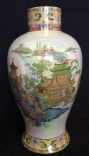W&R CARLTONE Ware Painted Porcelain Vase