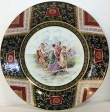 Ornately Detailed Decorative Porcelain Platter1552