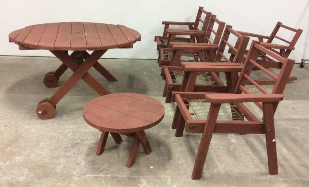 Wood adirondack style outdoor furniture set - Adirondack style bedroom furniture ...
