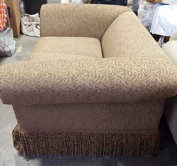 Ethan allen two seat sofa for Sofa bed 74 inches