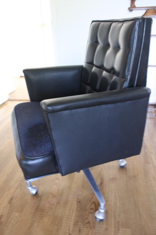 Tremendous Leather Swivel Tufted Mens Desk Chair Ibusinesslaw Wood Chair Design Ideas Ibusinesslaworg