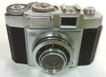 Zeiss Ikon Camera With Lens