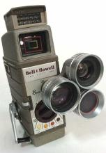Bell & Howell two Fifty Two 8 mm Camera