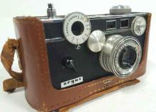 Argus Camera With Leather Case