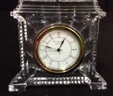 Waterford Crystal Desk Clock
