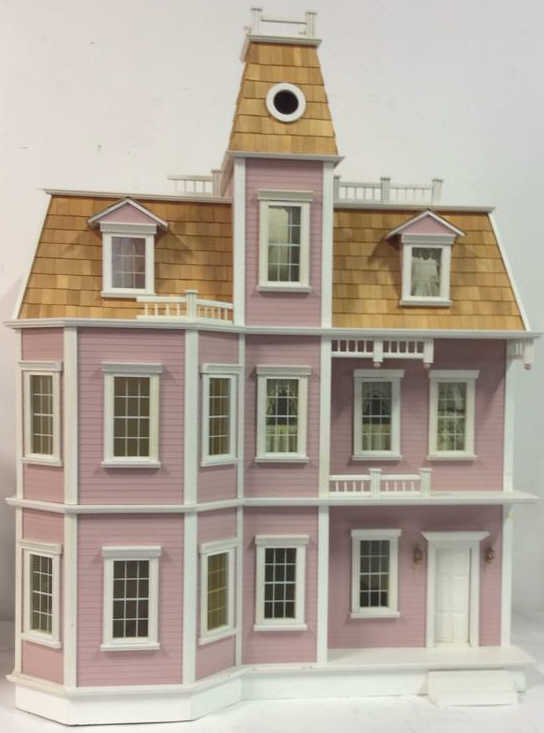 Custom 40 victorian dollhouse by real good toys for Custom victorian homes