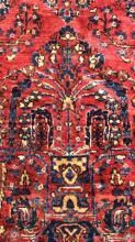 Vintage Handmade Floral Motif Detailed Rug