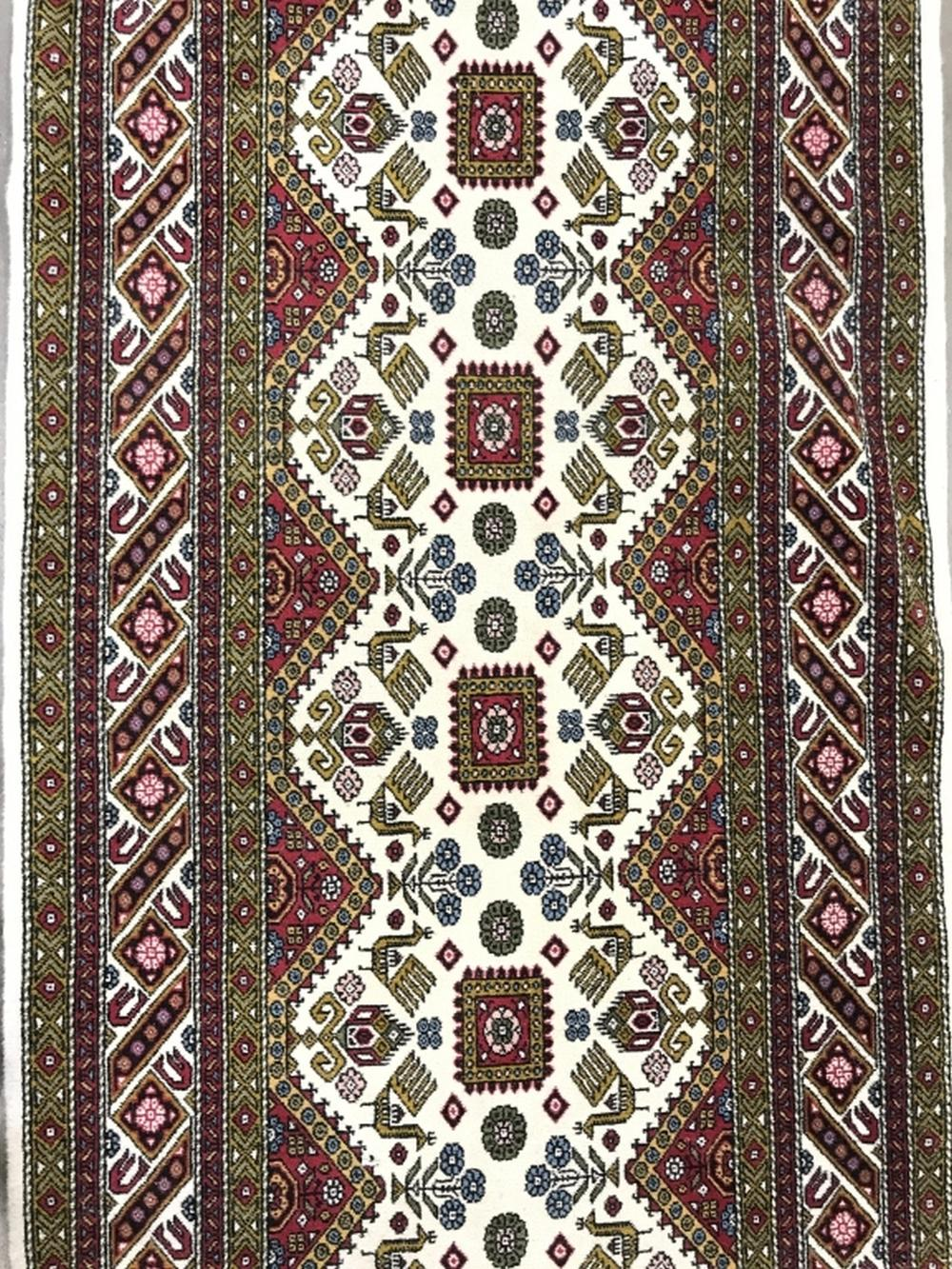 AZARBAYCAN Signed Handmade Wool Runner