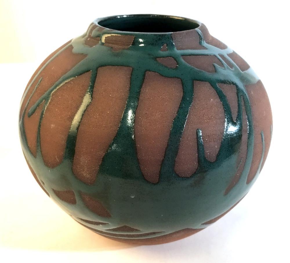 Ceramic Artist Signed Vase