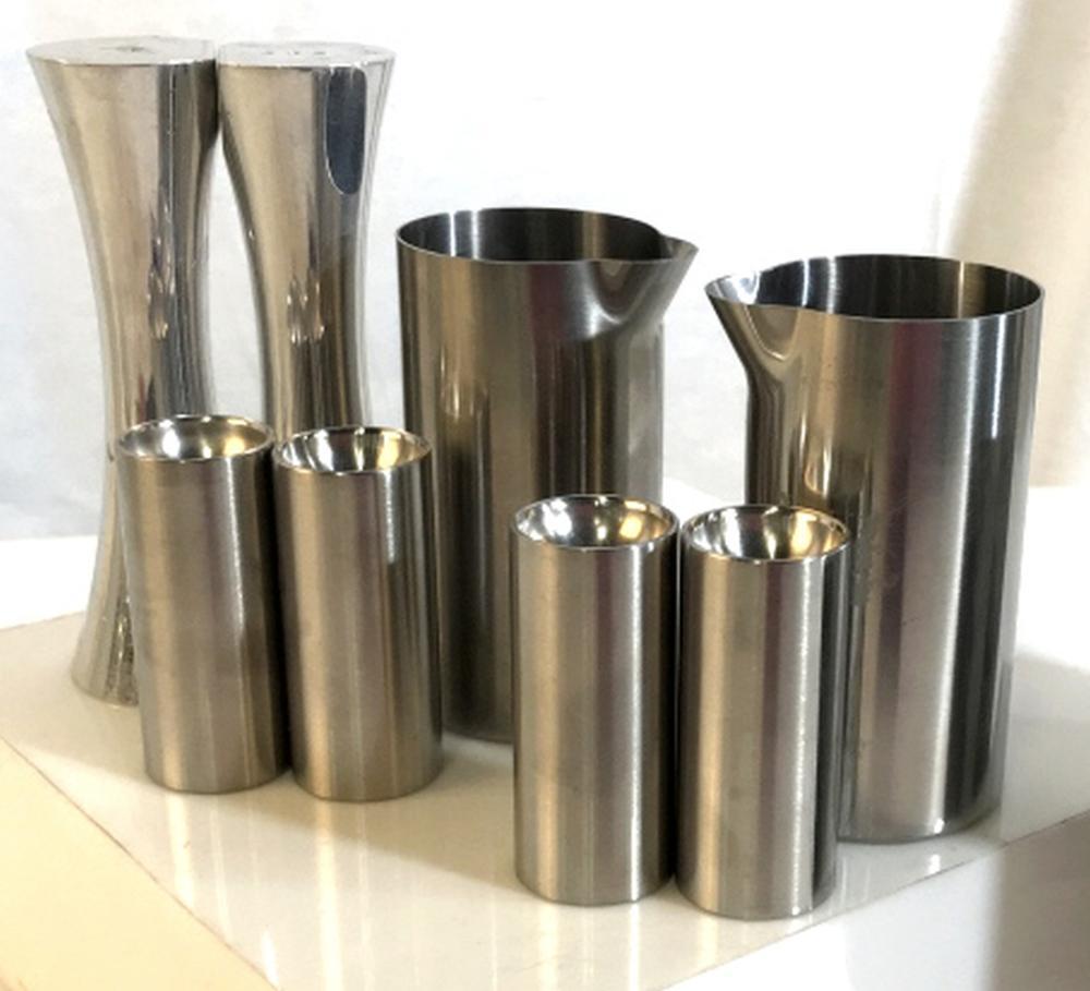 2 Sets STELTON Stainless steel tableware