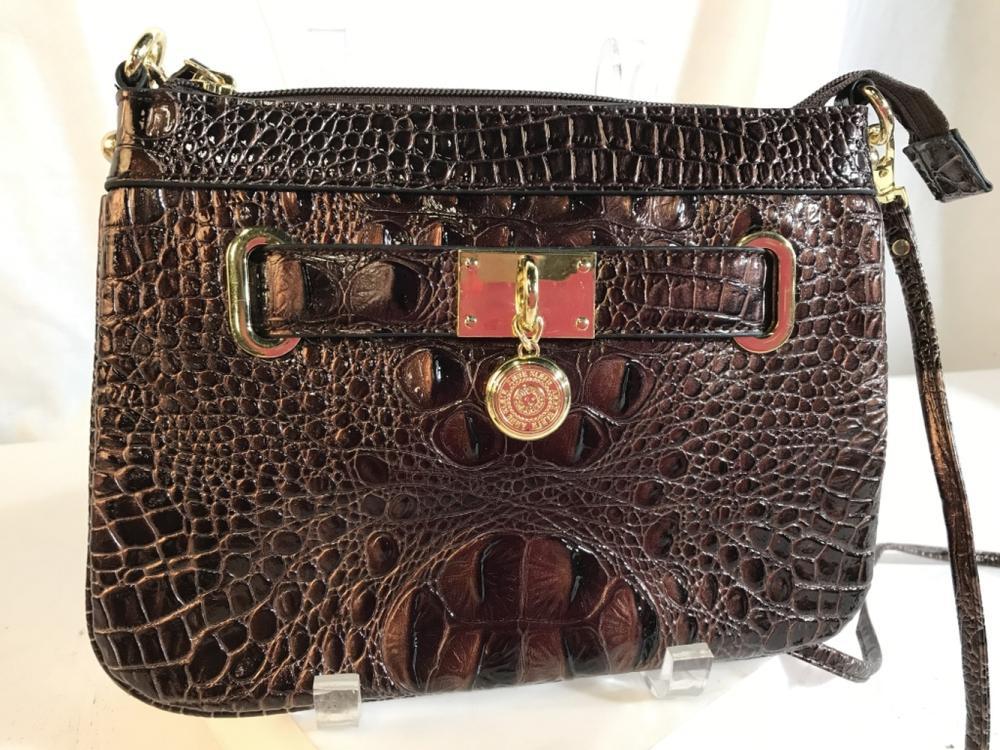 ANNE KLEIN shoulder/cross-body bag brown