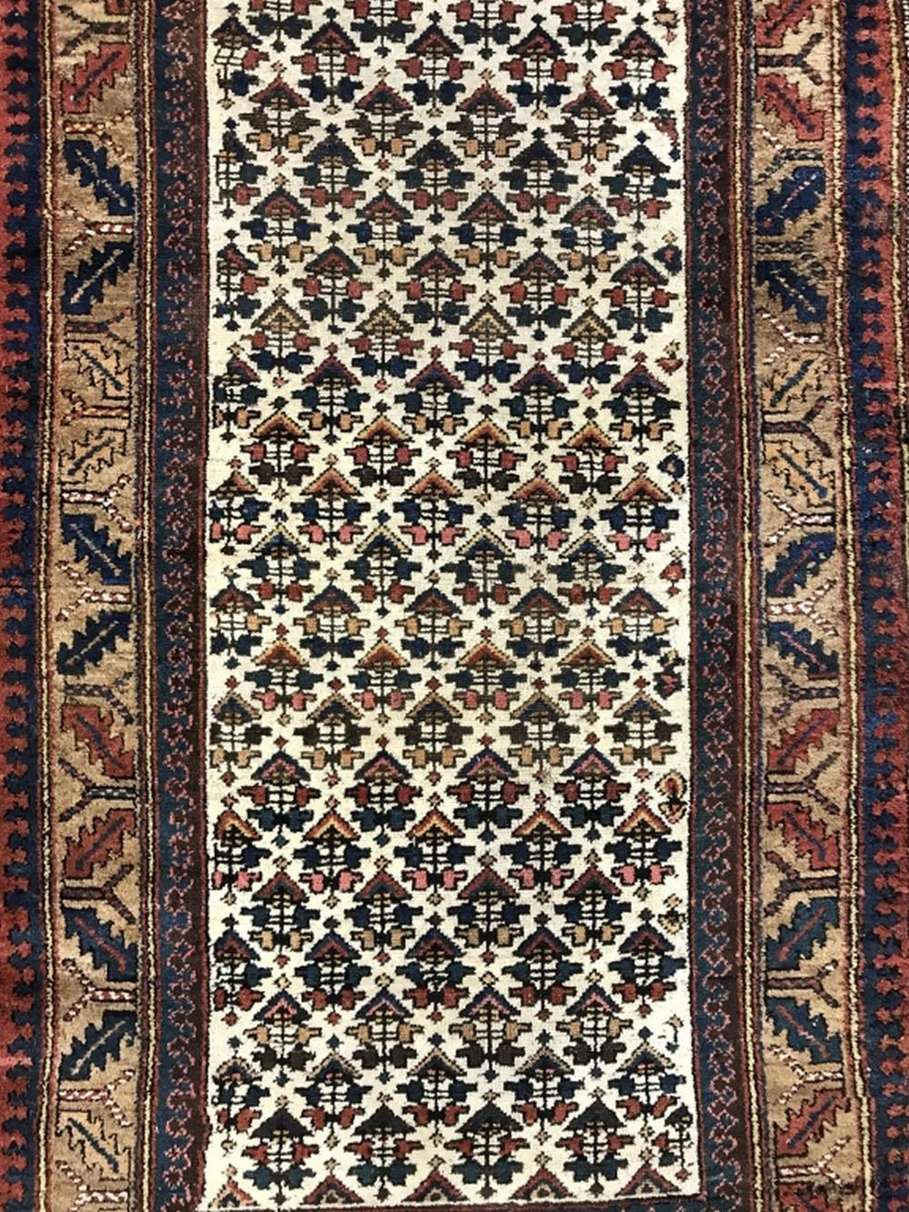 Vintage Handmade KURDISH Wool Carpet
