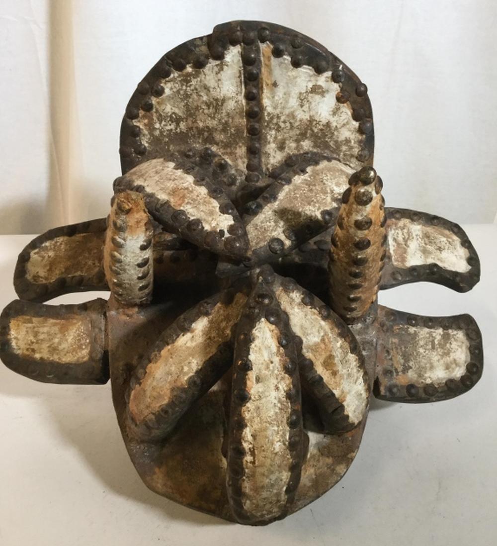 African Art Guere Tribe Magic Mask, Ivory Coast