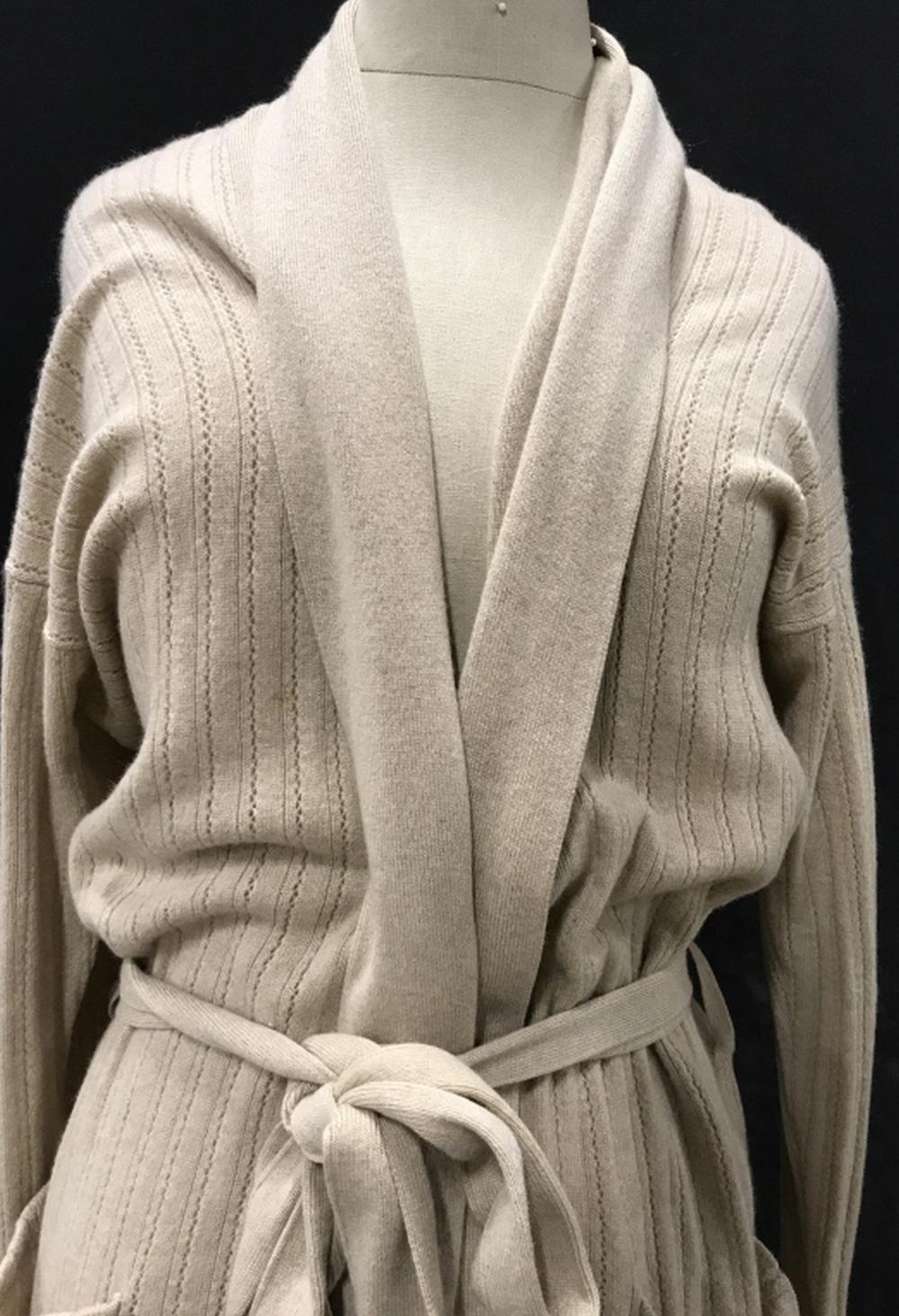 TSE CASHMERE Camel colored Sweater Jacket