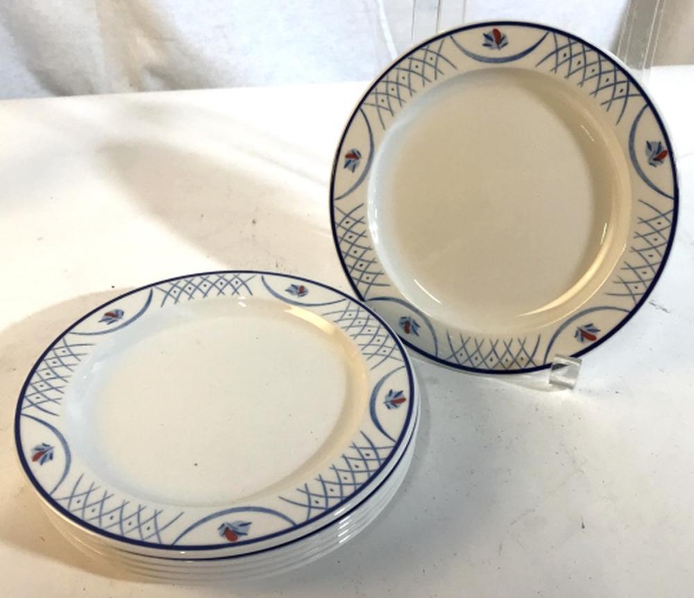 Set 12 Ceramic Porcelain Plates