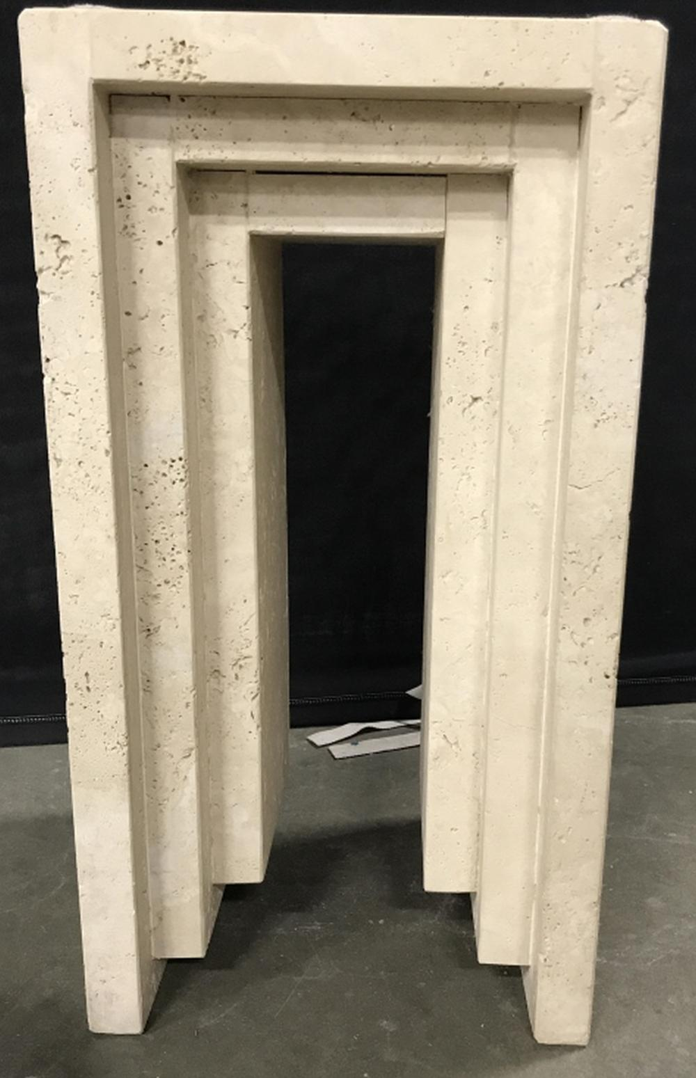MARBLE ART DECO STYLE Pedestal