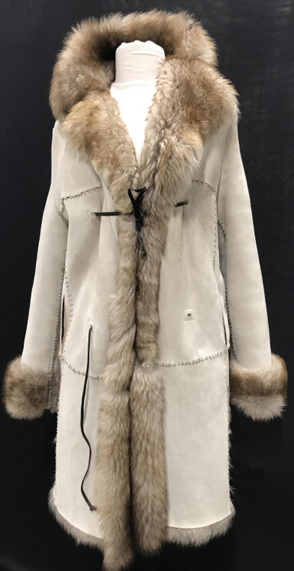 Vintage Lamb Coat Made For Bergdorf Goodman