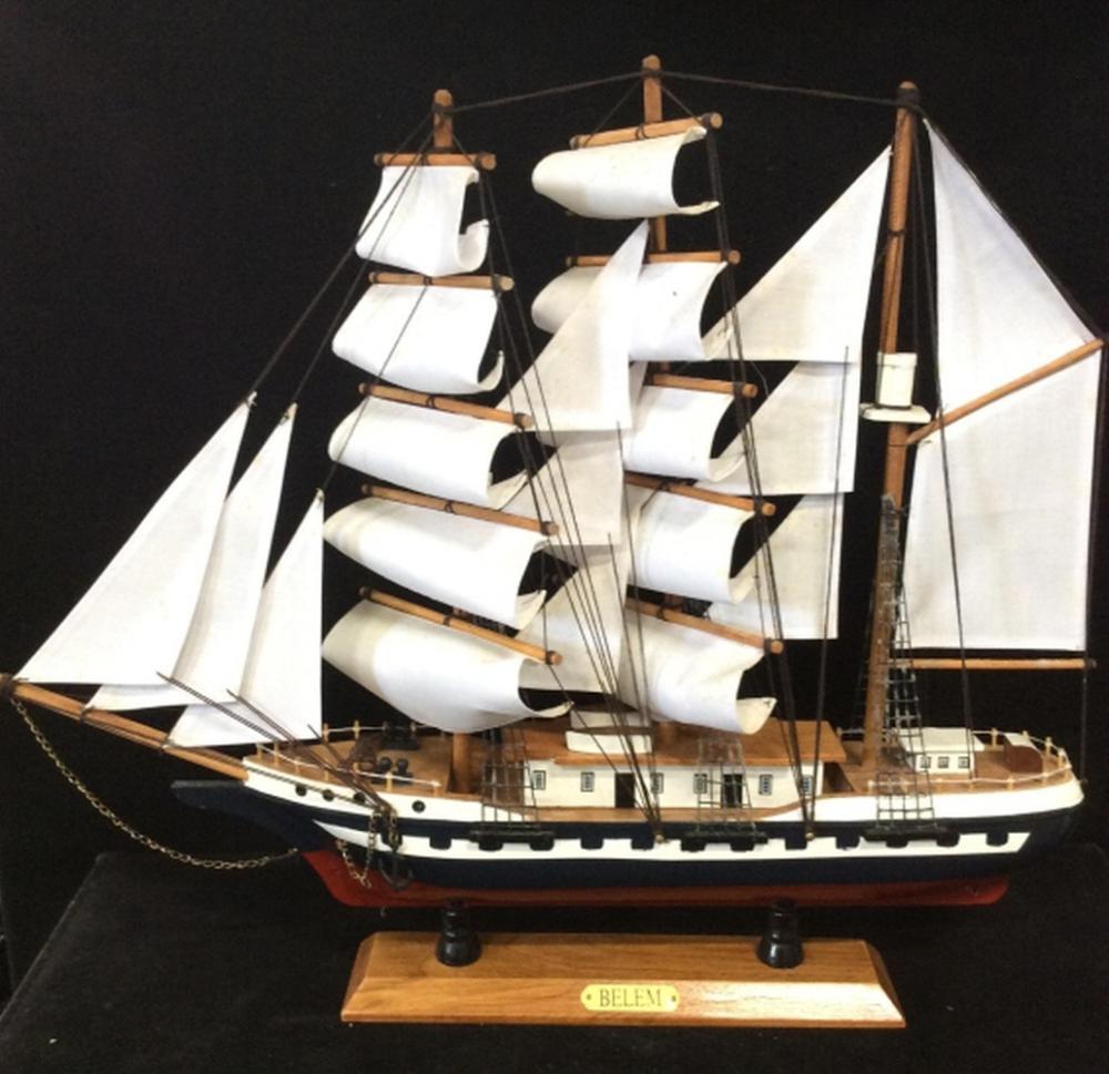 BELEM Ships Model Decor