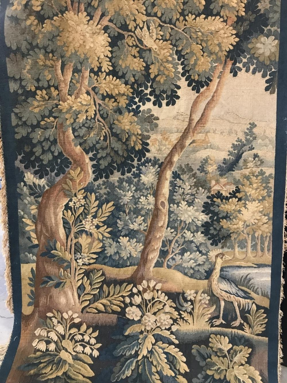 Antique Handmade French tapestry