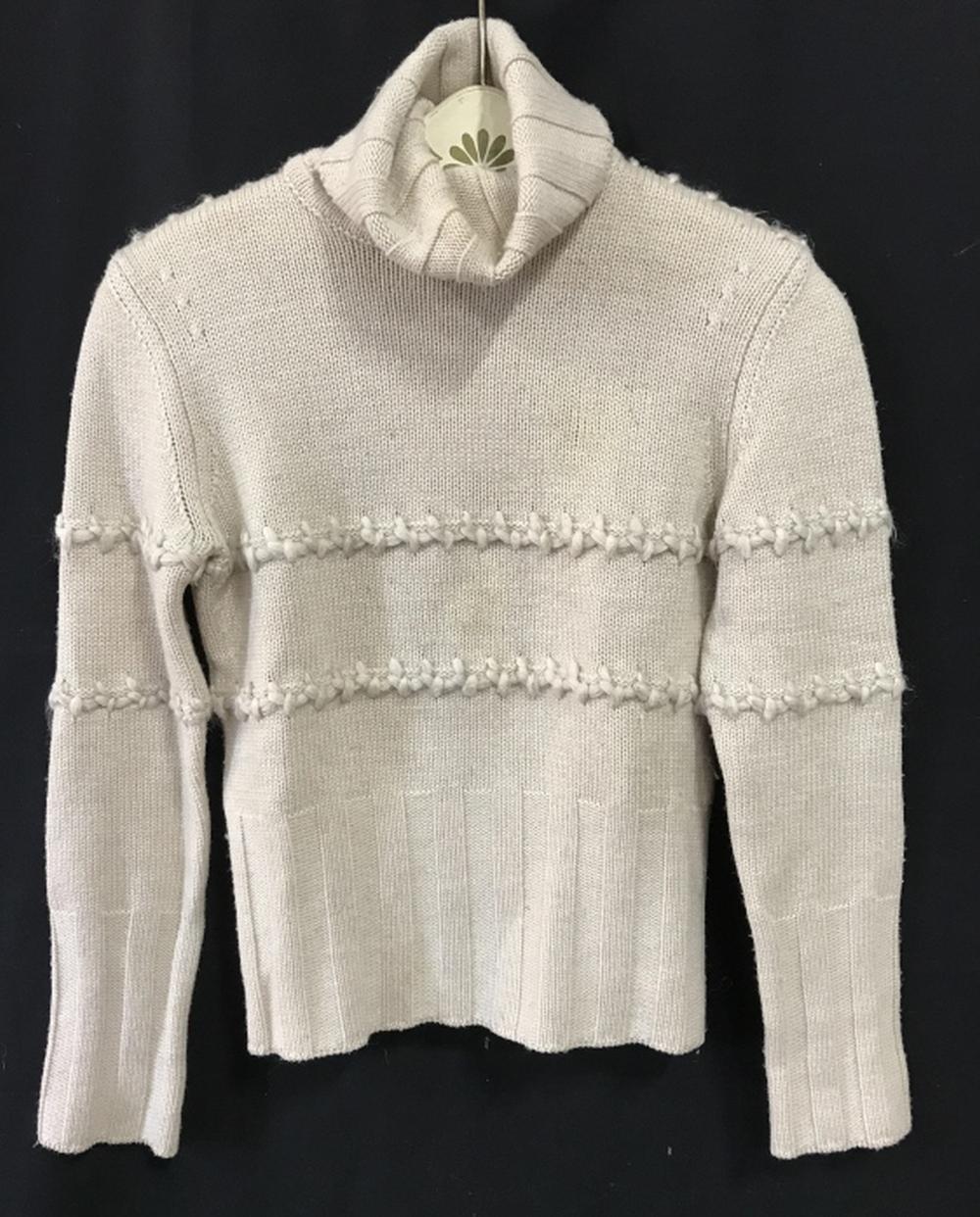 LES COPAINS Luxury Designer Wool Knit Sweater