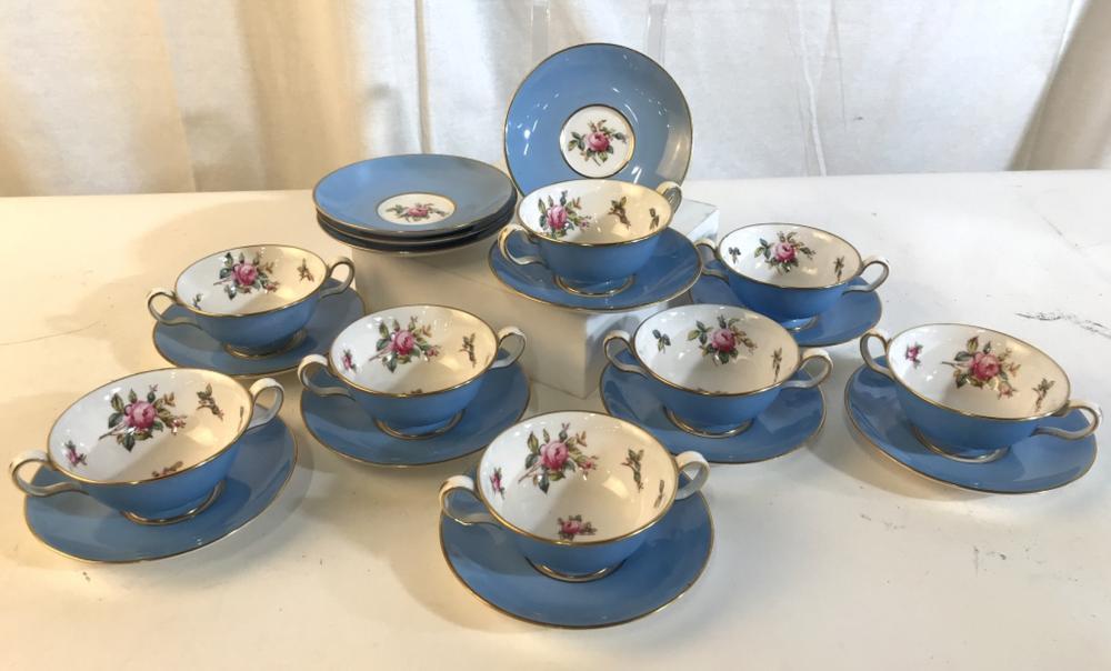 Set 20 china decorative tea set
