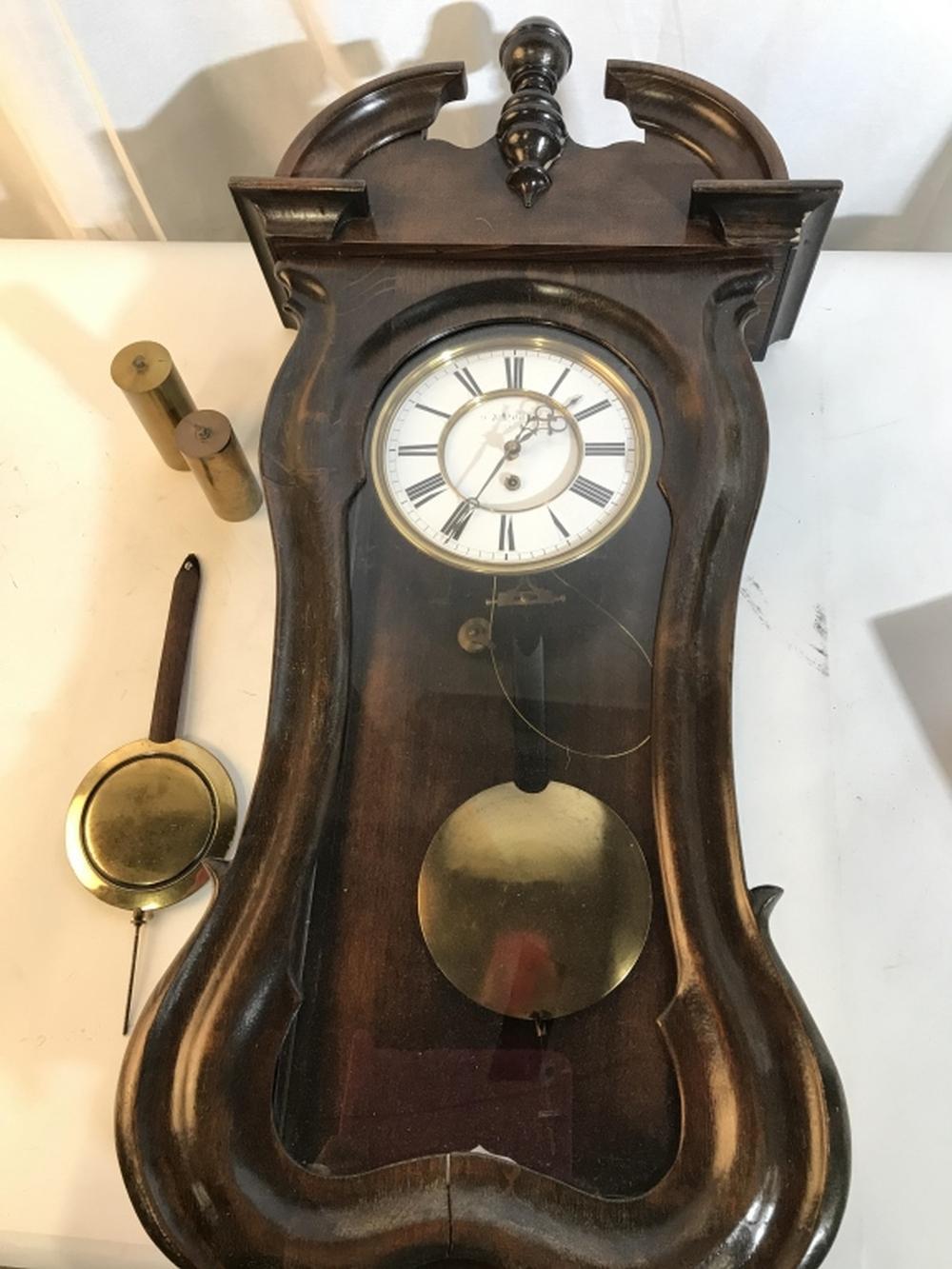 Vintage Hanging Wall Clock