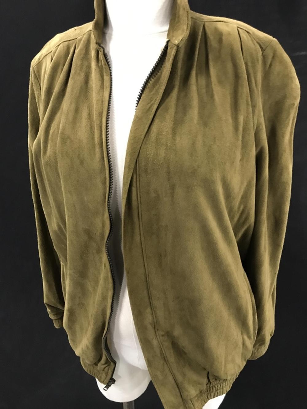 Vintage LIZ ROBERTS ROBERT ELLIOT Suede Zip Jacket
