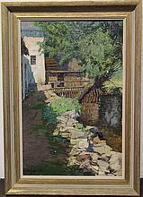 Czechoslovakian Landscape Painting Alois Kalvoda