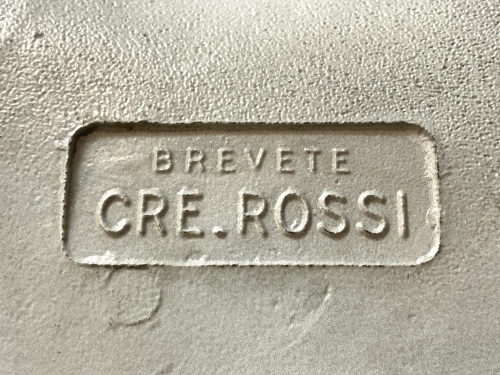 Lot 2 MCM CRE ROSSI BREVETE Tulip Base Stools