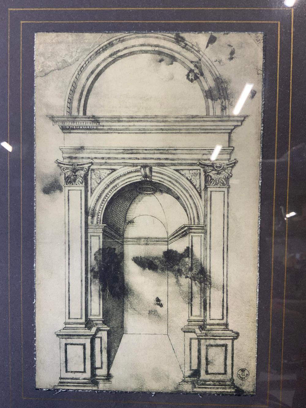 Triumphal Arch Lithograph