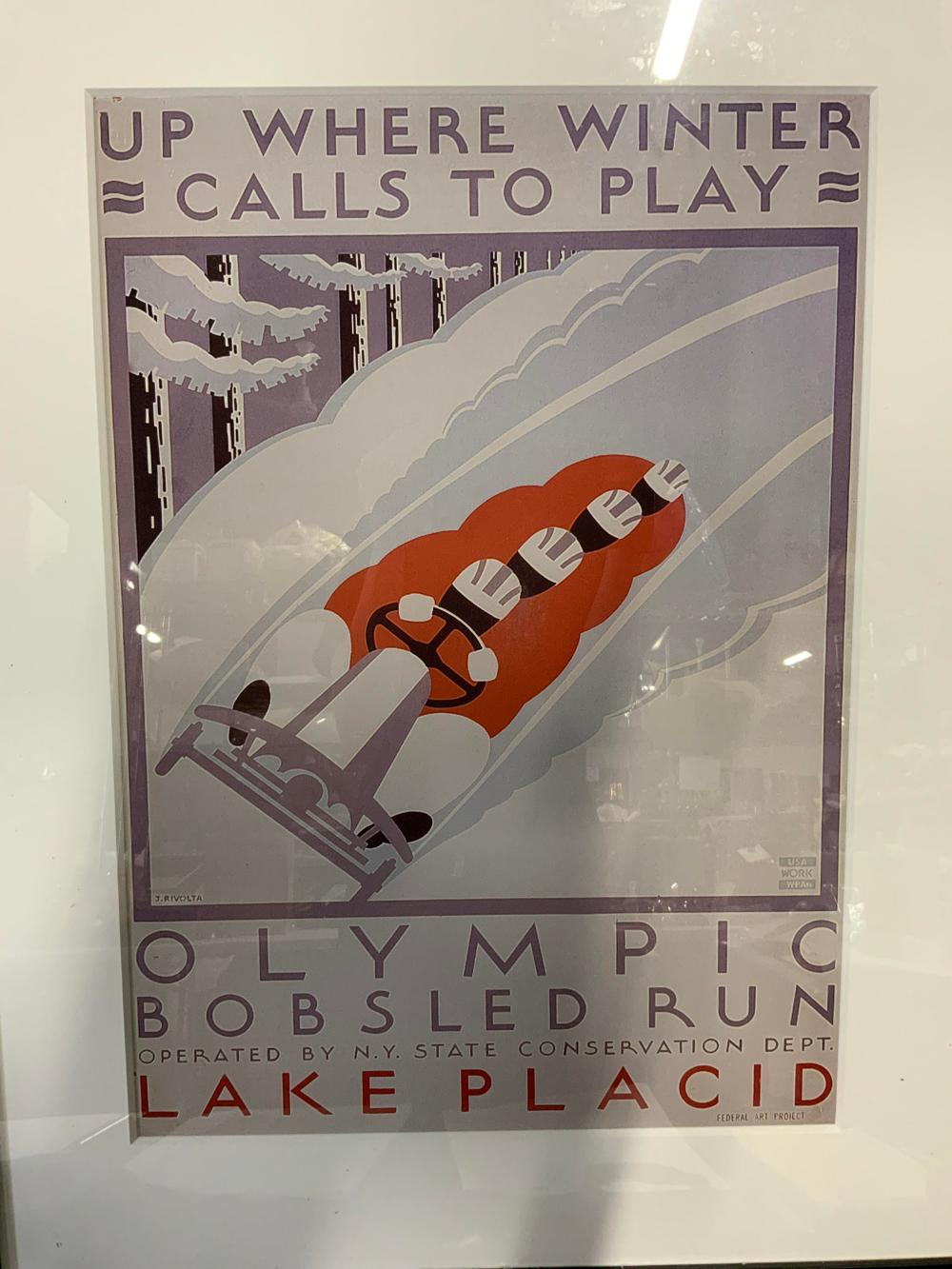 JACK RIVOLTA Silkscreen Promotional Poster