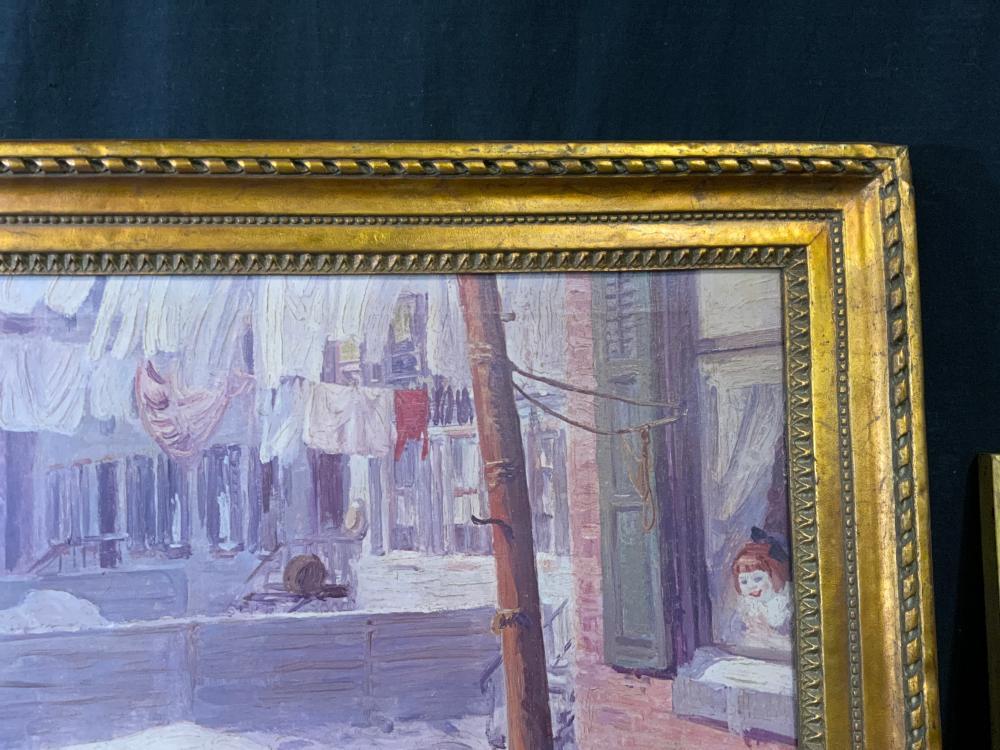 ATTR JOHN SLOAN Signed Oil on Canvas