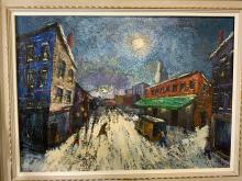 HARRY SHOULBERG Signed Oil on Canvas