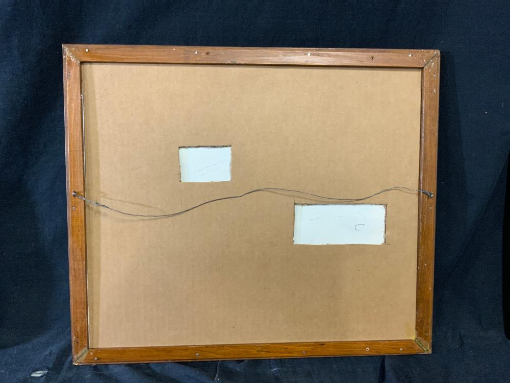 ATTR ROBERT MOTHERWELL Signed Lithograph
