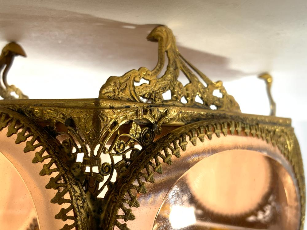 Victorian Style Ornate Footed Dresser Box