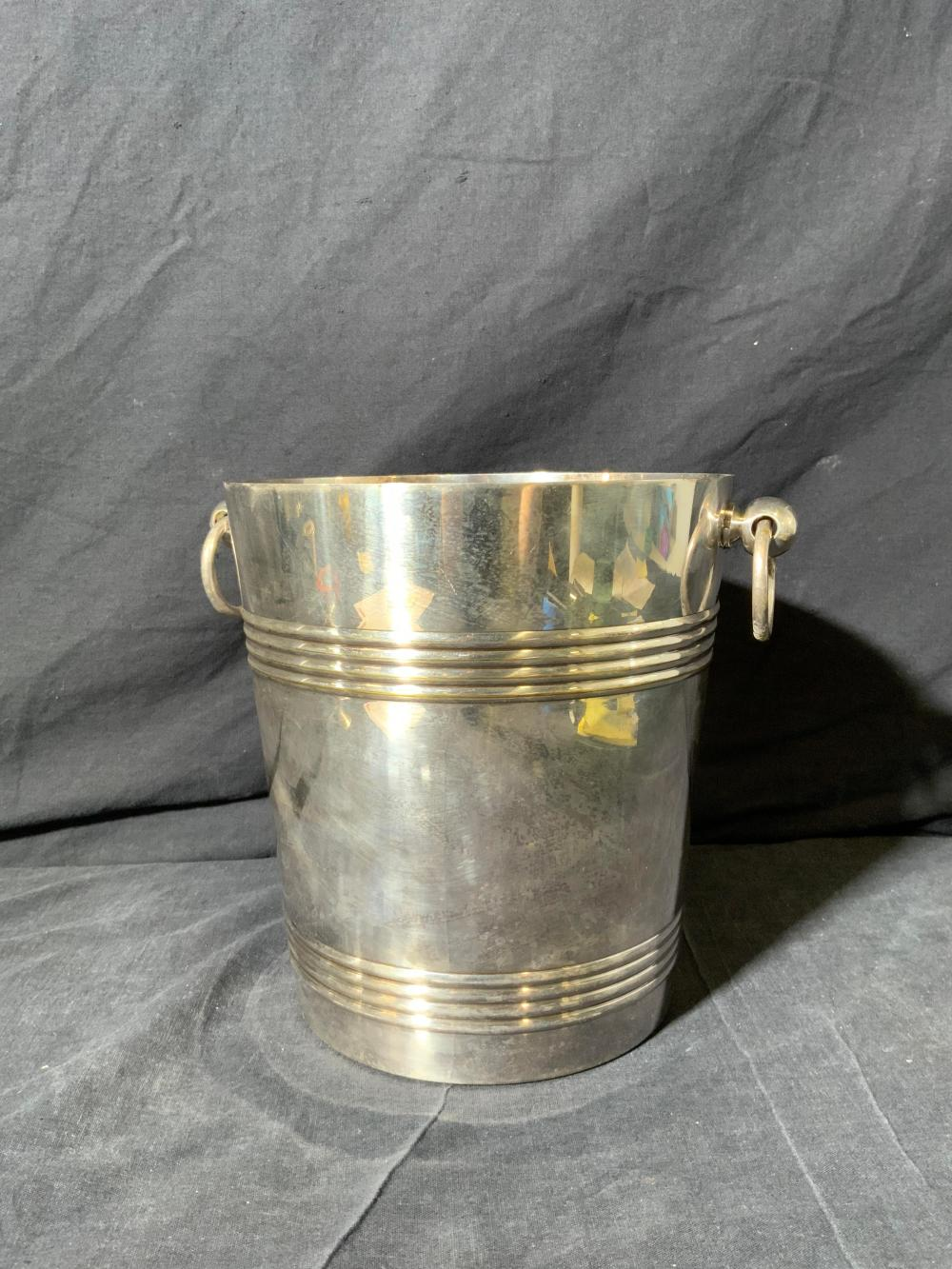 CHRISTOFLE FRANCE Silver Plated Ice Bucket