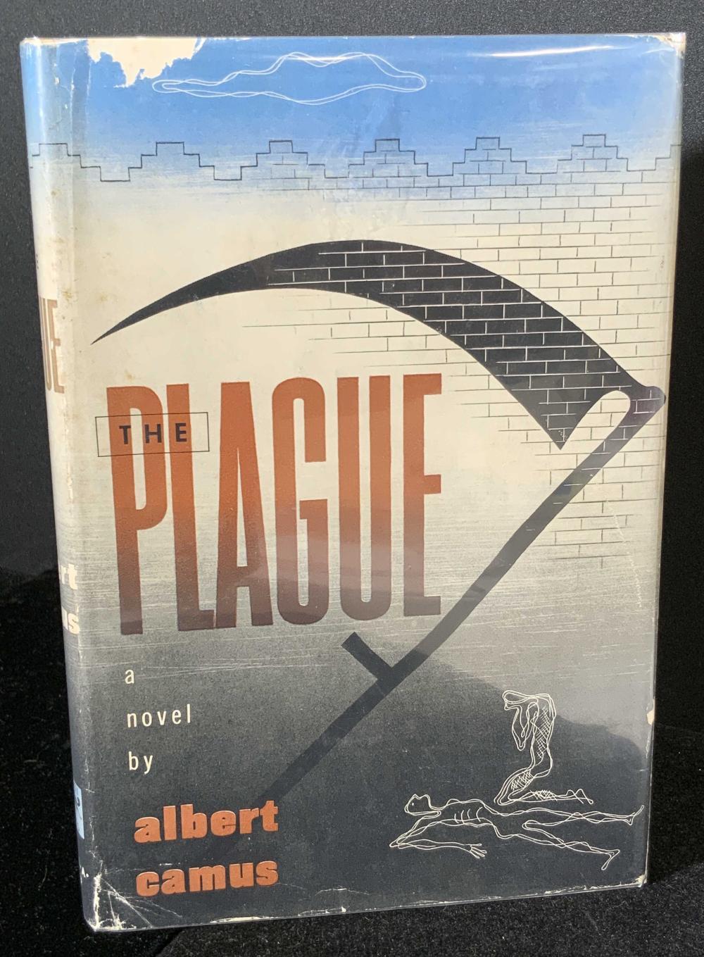 THE PLAGUE First American Edition, Albert Camus