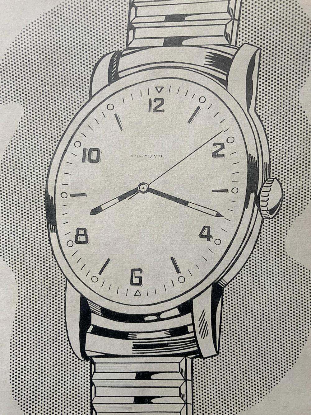ATTR ROY LICHTENSTEIN Signed Wrist Watch Litho