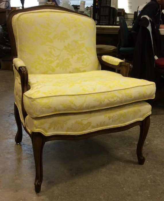 B. Altman & Co. Vintage Upholstered Bergere