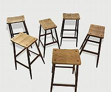 6 bar stools by Pinch