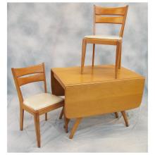 Maple Table & 4 Chairs by Heywood Wakefield   c.1960